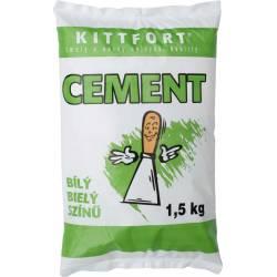 Cement bílý 1,5kg