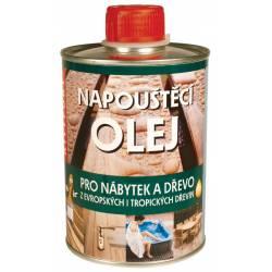 Napouštěcí olej přírodní 2,5 l