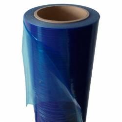 Lepící ochranná okenní fólie (modrá)