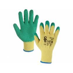 Pletené bezešvé pracovní rukavice ROXY