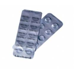 Tablety pro měření - CL - DPD1 Rapid - 10ks